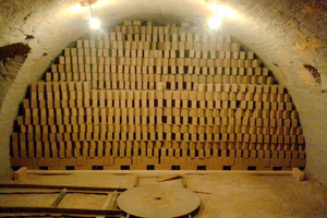"<div class=""bildtext""><span class=""textmarkierung"">»5</span> Fully charged firing channel with no edge gaps in an annular kiln</div>"
