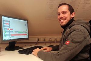 """<div class=""""bildtext""""><span class=""""bildnummer"""">»4</span> Dipl.-Ing. (FH) Stefan Zimmermann, plant manager at the Bannberscheid brickyard: """"Mass flow and heat rate make valuable monitoring parameters""""</div>"""