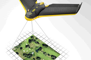 """<div class=""""bildtext""""><span class=""""textmarkierung"""">»1</span> Drones make an outstanding tool for use in surveying surface mines quickly, accurately and economically</div>"""