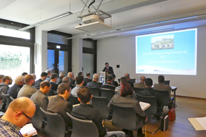 """<div class=""""bildtext""""><span class=""""bildnummer"""">»1</span> Stefan Jungk, President of the Federal German Association of the Brick and Tile Industry Regd, welcomed the participants to a mix of interesting topics</div>"""