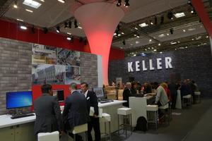"""<div class=""""bildtext""""><span class=""""textmarkierung"""">» </span>At the Keller stand, digitalization took centre stage</div>"""