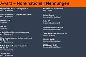 """<div class=""""bildtext""""><span class=""""textmarkierung"""">» </span>Companies nominated for the Zi Award Best Service Supplier 2018</div>"""