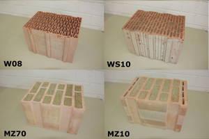 "<div class=""bildtext""><span class=""textmarkierung"">»5</span> Array of vertically perforated clay block specimens</div>"