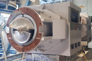 "<div class=""bildtext""><span class=""bildnummer"">»</span> The new extruder for the Sibelco plant in Devon</div>"