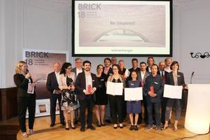 » The winners of the Brick Award 2018