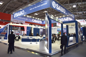 »1 View of the Sabo stand