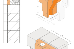 """<div class=""""bildtext""""><span class=""""textmarkierung"""">»2</span> In a practically oriented seminar, the students designed novel geometric brick products. These are to be integrated in existing masonry brick systems</div>"""