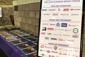 "<div class=""bildtext""><span class=""bildnummer"">»3</span> The latest issue of Zi Brick and Tile Industry International informed attendees about news from all over the world</div>"