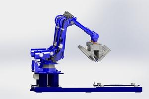 """<div class=""""bildtext""""><span class=""""bildnummer"""">»</span> The new robotic gripper head for Northcot Brick</div>"""