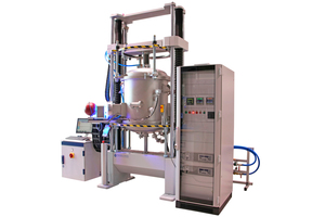 """<div class=""""bildtext""""><span class=""""bildnummer"""">»7</span> TOM_mech ThermoOptical measuring system for mechanical high-temperature testing (left) and visualization of the measuring furnace (right)</div>"""
