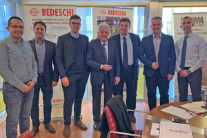"<div class=""bildtext""><span class=""bildnummer"">»</span> Bedeschi is supplying the Mladost Group </div>"
