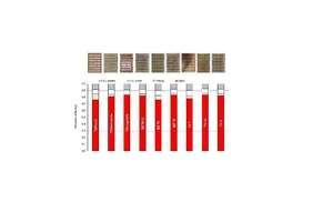 """<div class=""""bildtext""""><span class=""""bildnummer"""">»7</span> View of the bricks used and composition of the tested sample walls</div>"""