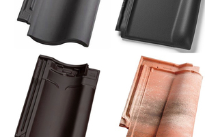 "<div class=""bildtext""><span class=""bildnummer"">» </span>The new roofing tiles developed by Bongioanni Stampi for Wienerberger</div>"