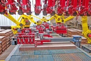 "<div class=""bildtext""><span class=""bildnummer"">»4</span> Sabo designed, supplied and commissioned the new robot setting installation for Meridian Brick in Henderson, Texas</div>"