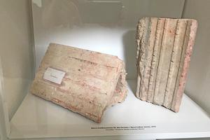 """<div class=""""bildtext""""><span class=""""bildnummer"""">»</span>Berra ceramic hollow blocks, permanent exhibition at the Haus am Horn</div>"""