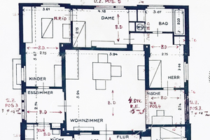 "<div class=""bildtext""><span class=""bildnummer"">» </span>Floor plan of the ground floor with ceiling over the ground floor</div>"