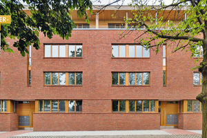 "<div class=""bildtext""><span class=""bildnummer"">» </span>Another gold in the category for Residential Building/Apartment Complex was won by Reinhard Martin Architekt BDA, Münster, for the refurbishment of the Schiffahrter Damm residential complex in Münster</div>"