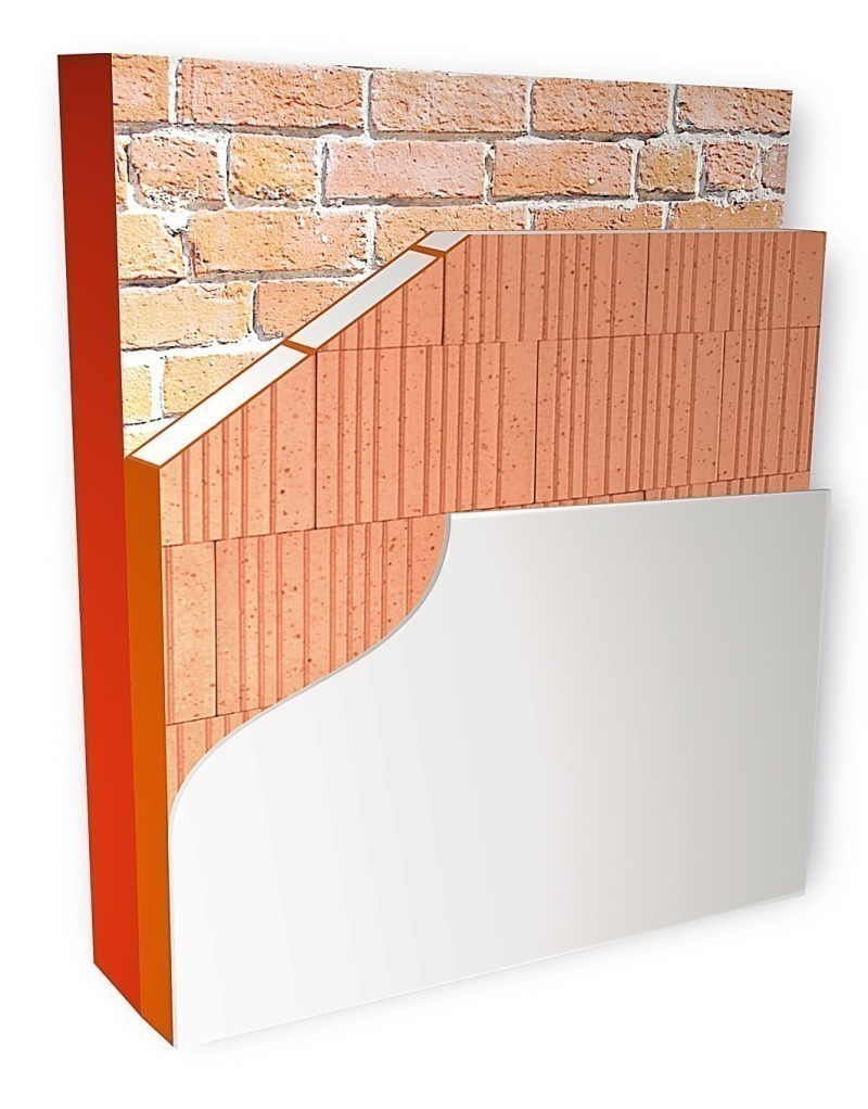 Brick and tile industry international 2 effective external insulation of the faade consists of layer of poroton wdf dailygadgetfo Choice Image