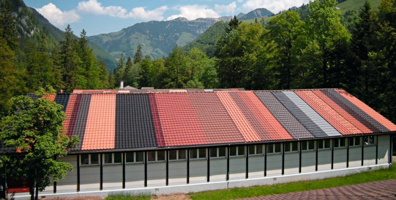 Open Air Facility In The Melch Valley Ch For Long Term Testing Of Clay Roofing Tiles Brick And Tile Industry International