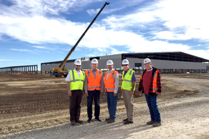 """Röben's new factory in Clay County, Texas, USA<span class=""""child""""></span>"""
