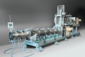 "<span class=""bildunterschrift_hervorgehoben"">»</span> ECT combined de-airing extrusion unit, type VAHRS 310 with 300mm auger diameter for extrusion pressures up to 150bar<br />"