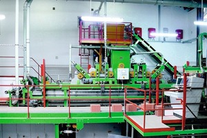 "<span class=""bildunterschrift_hervorgehoben"">»2</span> Now available outside of Germany: the new Lingl filling plant for highly insulative bricks. The modularized equipment integrates well into existing production facilities<br />"