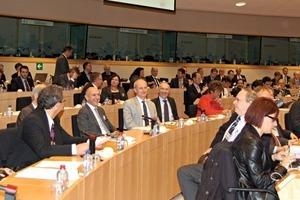 "<span class=""bildunterschrift_hervorgehoben"">»2</span> The afternoon programme included a Stakeholder Workshop at the European Parliament<br />"