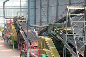 "<span class=""bildunterschrift_hervorgehoben"">»2</span> View of the preparation plant at Wienerberger's Rumst facility<br />"