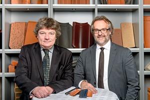 """<span class=""""bildunterschrift_hervorgehoben"""">»</span> The new board of Tondach Gleinstätten AG: Martin Olbrich, left, and Marcus Pechlaner"""