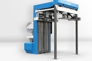 "<span class=""bildunterschrift_hervorgehoben"">»</span> Beumer will be presenting a new machine from its stretch hood product range"