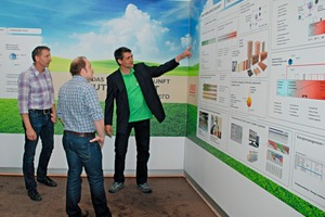 "<span class=""bildunterschrift_hervorgehoben"">» </span>The exhibition ""The Future Brick Plant"" underscored Lingl's ­competence in process engineering"