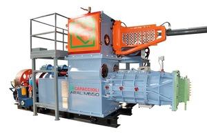 """<span class=""""bildunterschrift_hervorgehoben"""">»5</span> The Aral 650 extruder with its grate extracted"""