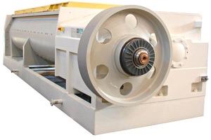 """<span class=""""bildunterschrift_hervorgehoben"""">»</span> The 046-S double-shaft mixer boasts acapacity of 180t/h"""