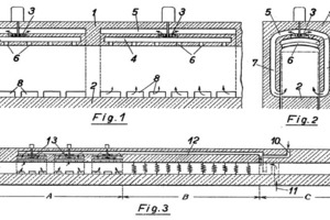 "<span class=""bildunterschrift_hervorgehoben"">»3</span> Recirculation system with internal ducted ventilators – Patent Brown Boverie &amp; Cie AG (from the original Patent document)"