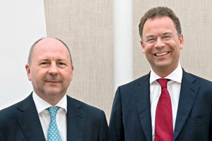 """<span class=""""bildunterschrift_hervorgehoben"""">»</span> Willy Van Riet (left) and Heimo Scheuch"""
