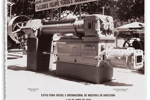 "<div class=""bildtext_en""><span class=""textmarkierung"">»2</span> Verdés extruder at a trade fair in Barcelona in 1960</div>"
