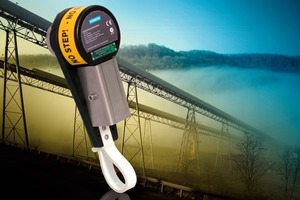 &gt;&gt;1 The new, compact, medium-resolution, belt speed sensor is suitable for any industrial application with belt-driven conveyor pulleys<br />