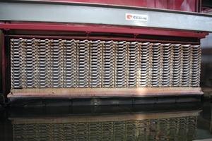 """<span class=""""bildunterschrift_hervorgehoben"""">»5</span> Hydrocasing kiln with a platform lift"""