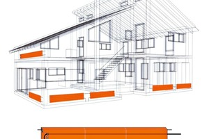 """<span class=""""bildunterschrift_hervorgehoben"""">»2</span> The new Unitherm panel heating can be integrated in walls, ceilings and floors as required"""
