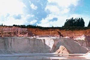 """<span class=""""bildunterschrift_hervorgehoben"""">»1</span> Extraction of kaolinitic silica sands at Grossschoenbrunn/Upper Palatinate<br />"""