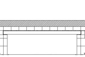 ››2 Randbedingungen für Flachstürze mit einer einlagigen Übermauerung und 113 mm hohen Zuggurten
