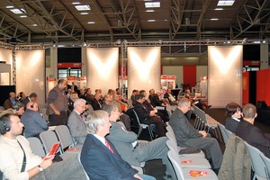 """<span class=""""bildunterschrift_hervorgehoben"""">»3</span> Heavy Clay Day, hosted by Zi Brick and Tile Industry International, was well received by the fairgoers<br />"""