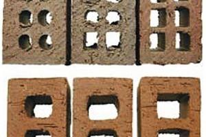 """<span class=""""bildunterschrift_hervorgehoben"""">»10</span> Cored bricks"""