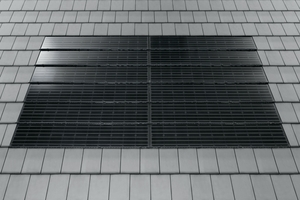 &gt;&gt;2 The Braas PV Premium in-roof PV system is now also available for Turmalin roofing tiles<br />