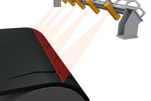 "<div class=""bildtext_en"">&nbsp;<span class=""bildnummer"">»1</span> The mobile inspection system Conti SurfaceInspect scans the entire conveyor belt surface by means of ultra-modern line laser technology<br /> </div>"