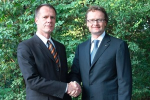 "<span class=""bildunterschrift_hervorgehoben"">»1</span> Announced their marketing cooperation in Munich: Unipor CEO Dr. Thomas Fehlhaber (at left) and Lingl CEO Frank Appel<br />"