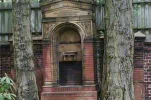 """<span class=""""bildunterschrift_hervorgehoben"""">»6</span> Albrecht Türrschmiedt's tombstone<br />Photos: Wolfgang Orlamünder, Berlin<br />"""