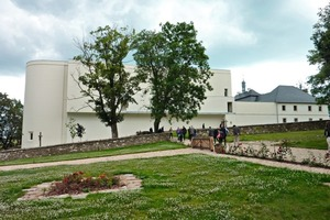 """<span class=""""bildunterschrift_hervorgehoben"""">»2</span> The internationally known Carthusian cloister in Novy Dvur, Czechia, was extended and converted by the Pilsen-based architect Jan Soukop, together with John Pawson, London, from a four-sided manor farm<br />"""