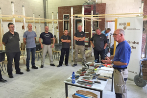 """<div class=""""bildtext""""><span class=""""bildnummer"""">»1</span> KNB has launched an additional training programme directed specifically at instructors at construction colleges for building professionals</div>"""