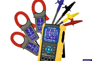 """<div class=""""bildtext_en"""">»1 Power analyser PCE-PA 8000 for determining electric load curves</div>"""
